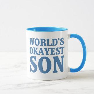 World's Okayest Son Mug