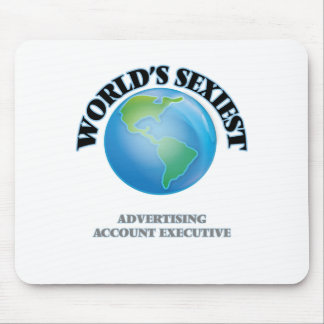 World's Sexiest Advertising Account Executive Mousepads
