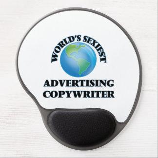 World's Sexiest Advertising Copywriter Gel Mouse Mats