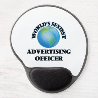 World's Sexiest Advertising Officer Gel Mouse Mat