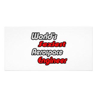 World's Sexiest Aerospace Engineer Photo Greeting Card