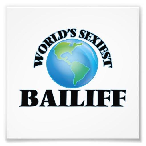 World's Sexiest Bailiff Art Photo