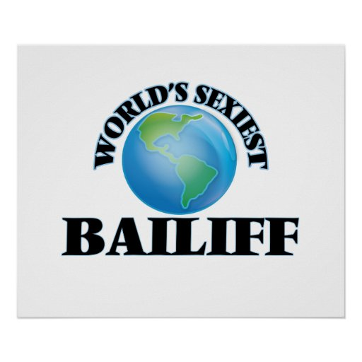 World's Sexiest Bailiff Poster
