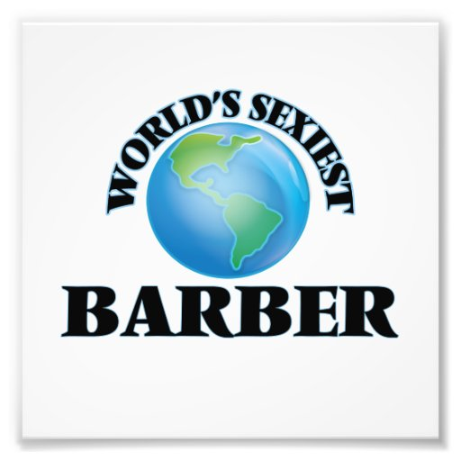 World's Sexiest Barber Photo