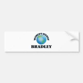 World's Sexiest Bradley Bumper Sticker