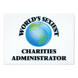 World's Sexiest Charities Administrator Invite
