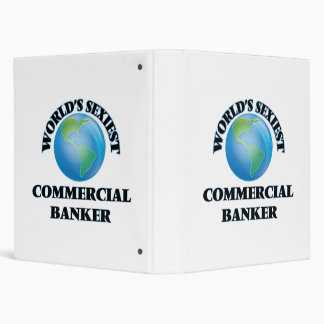 World's Sexiest Commercial Banker 3 Ring Binders