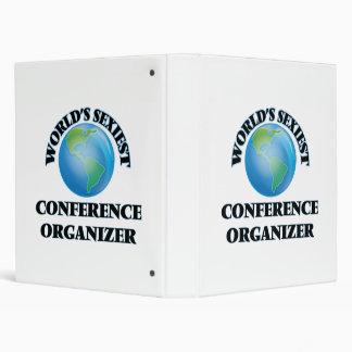 World's Sexiest Conference Organizer Vinyl Binder