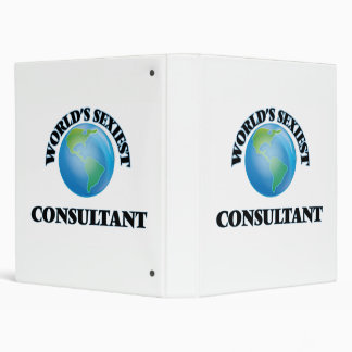 World's Sexiest Consultant 3 Ring Binder