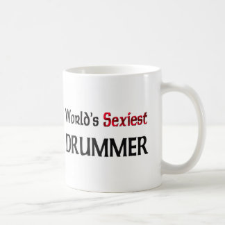 World's Sexiest Drummer Coffee Mugs