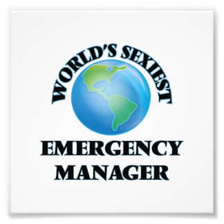 World's Sexiest Emergency Manager Photograph