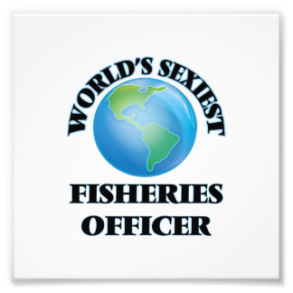 World's Sexiest Fisheries Officer Photo Art