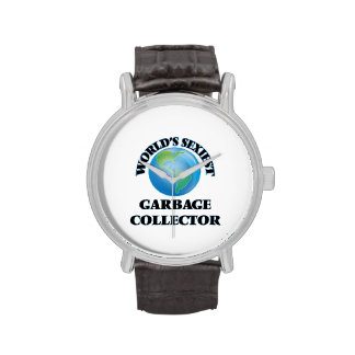 World's Sexiest Garbage Collector Wrist Watches