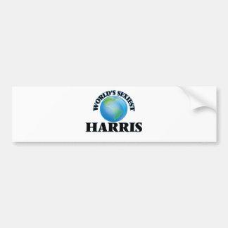 World's Sexiest Harris Bumper Sticker