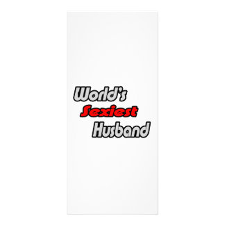 World's Sexiest Husband Rack Cards
