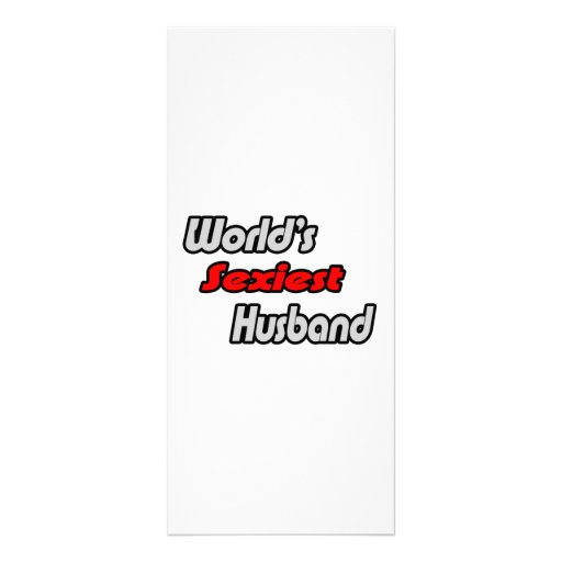 World's Sexiest Husband Rack Cards