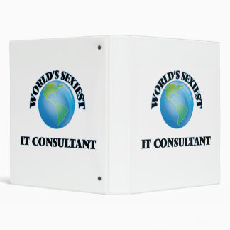 World's Sexiest It Consultant 3 Ring Binders