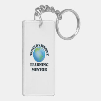 World's Sexiest Learning Mentor Rectangle Acrylic Keychains