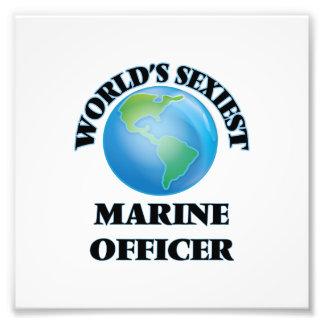 World's Sexiest Marine Officer Photo Print