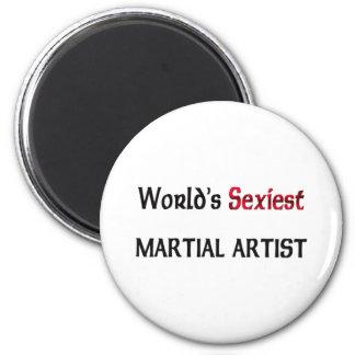 World's Sexiest Martial Artist Magnet