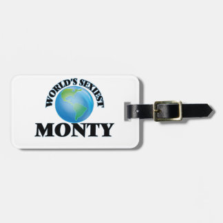 World's Sexiest Monty Bag Tag