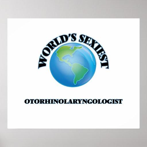 World's Sexiest Otorhinolaryngologist Posters