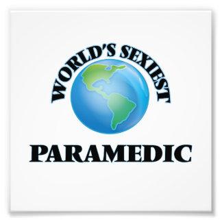 World's Sexiest Paramedic Photo Art