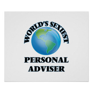 World's Sexiest Personal Adviser Posters