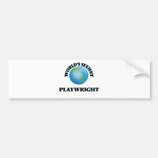 World's Sexiest Playwright Bumper Sticker