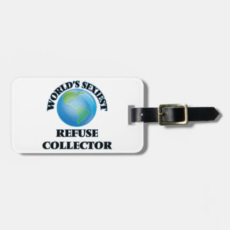 World's Sexiest Refuse Collector Luggage Tags