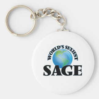 World's Sexiest Sage Key Chain