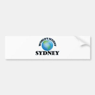 World's Sexiest Sydney Bumper Sticker