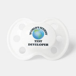 World's Sexiest Test Developer Baby Pacifiers