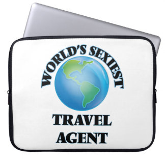 World's Sexiest Travel Agent Computer Sleeve