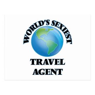 World's Sexiest Travel Agent Post Cards