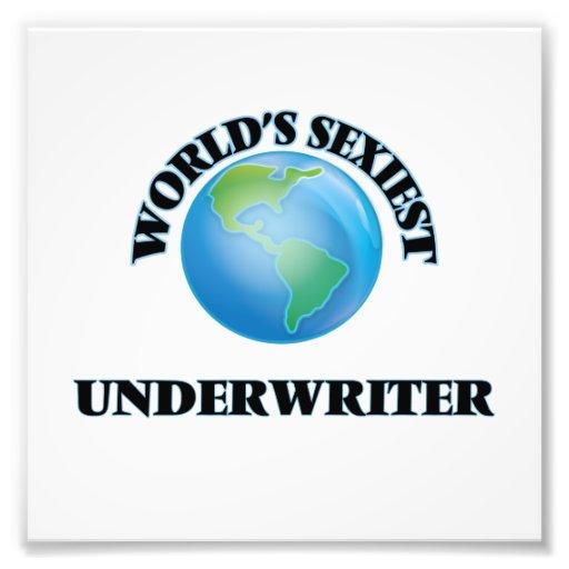 World's Sexiest Underwriter Art Photo