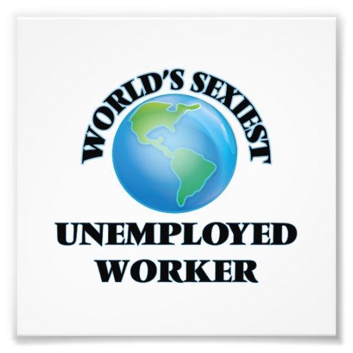 World's Sexiest Unemployed Worker Photo
