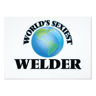 World's Sexiest Welder Personalized Invite