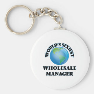 World's Sexiest Wholesale Manager Key Chain