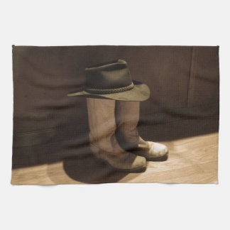 World's Shortest Cowboy Kitchen Towel