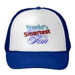 Worlds Smartest Son Mesh Hat