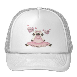 World's Sweetest Adoptive Mother Mothers Day Gifts Trucker Hat