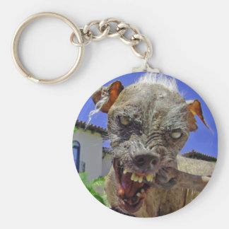 World's Ugliest Dog Keychain