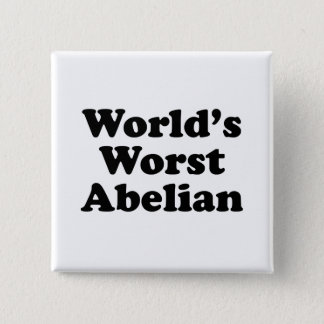 World's Worst Abelian 2 Inch Square Button