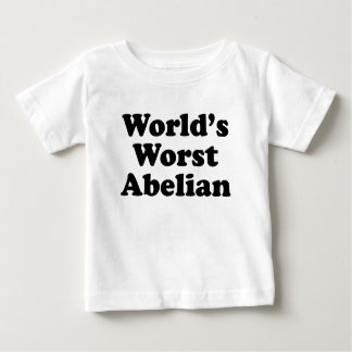 World's Worst Abelian Baby T-Shirt