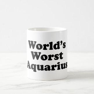 World's Worst Aquarius Coffee Mug