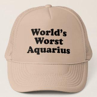 World's Worst Aquarius Trucker Hat