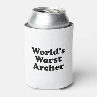 World's Worst Archer Can Cooler