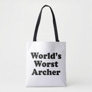 World's Worst Archer Tote Bag