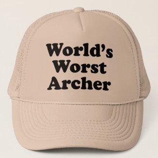 World's Worst Archer Trucker Hat